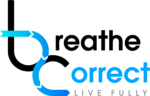 Breathe Correct logo with tagline