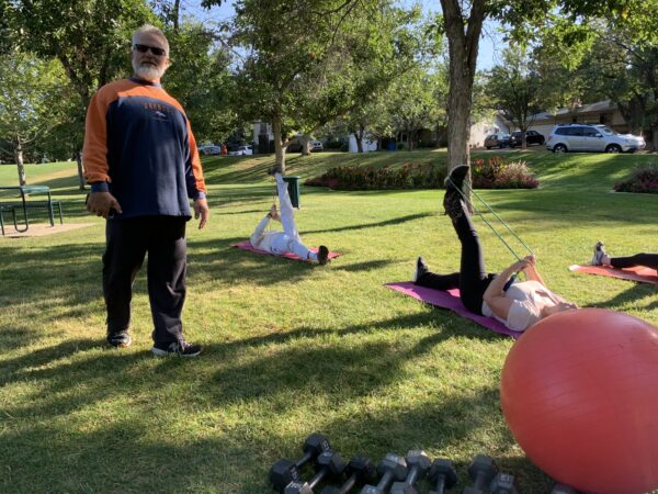 Fitness Camp with Les Sparks